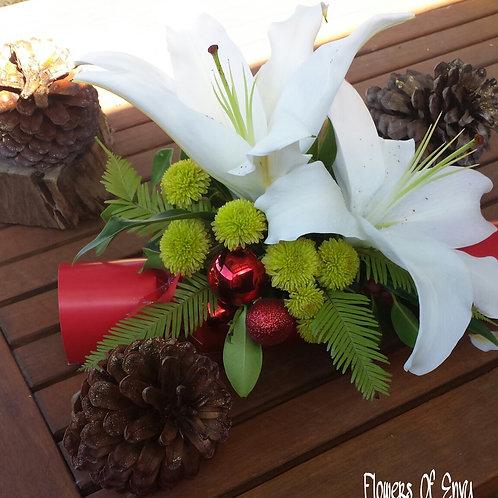 Bon Bon filled with flowers or Mini Chrismas Trees