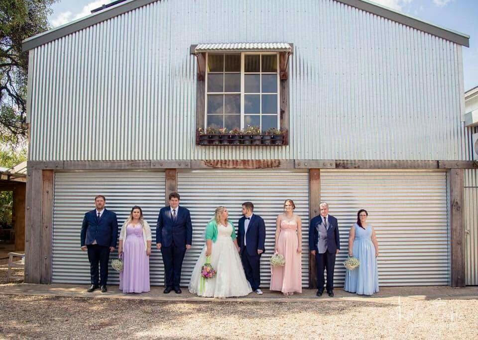 Amanda Al-Ru Farm Wedding