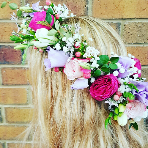 Flower Crown Work Shop
