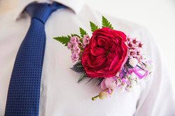 Flowers Of Envy Buttonhole