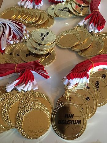 Médailles Hip Hop Belgium