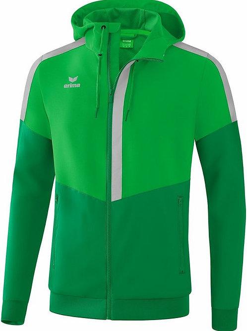 Veste à capuche Tracktop vert