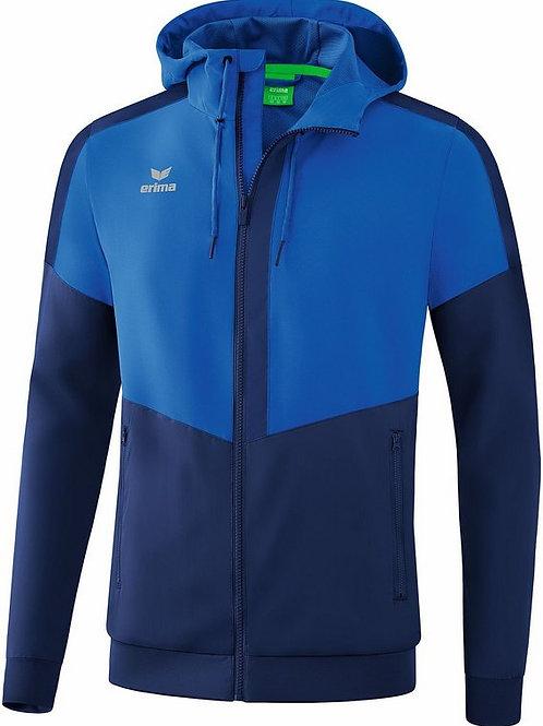 Veste à capuche Tracktop bleu