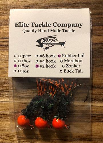 Elite Tackle Jigs(Orange/Green)