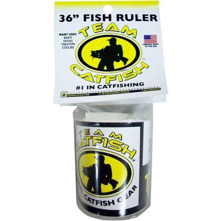 "36 Vinyl Fish Ruler"""