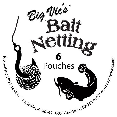 Big Vics Bait Netting (6 Pack)