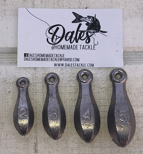 5 Pack of Bank Sinkers