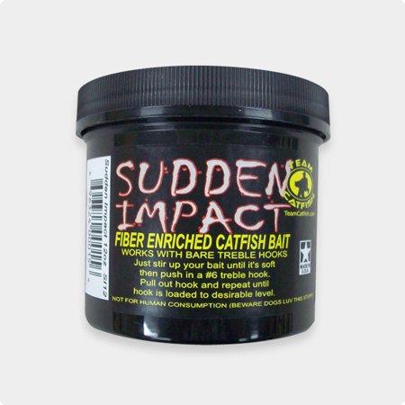 """Sudden Impact """"Fiber Enriched Catfish Bait"""""""