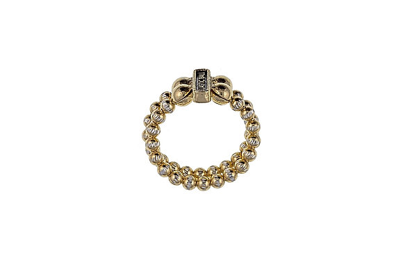 Gold Two Strand Ring