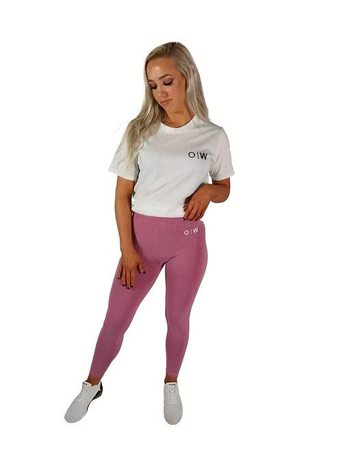 Confident Seamless Leggings - Pink Marl