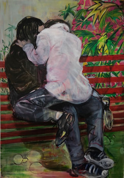 Bench_Kissing_tamsin_morse