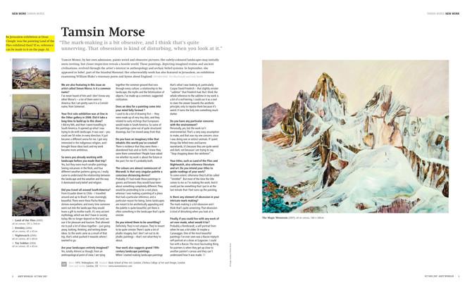 Art Review Tamsin Morse 2007