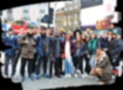 Londres voyage groupe etudiant Erasmus 0