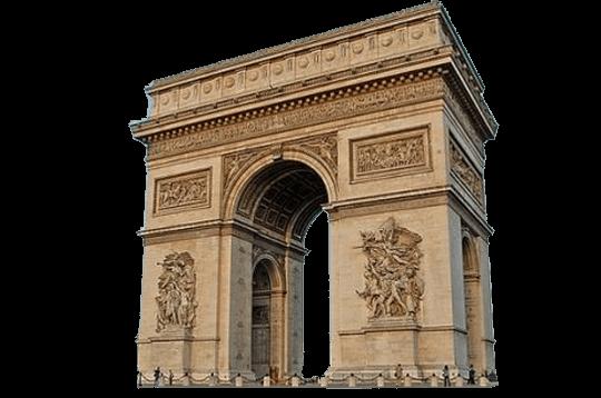 arc de triomphe paris erasmus voyage 02.png
