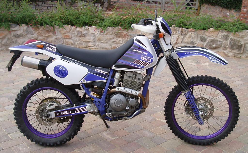 Yamaha ttr 250 specs