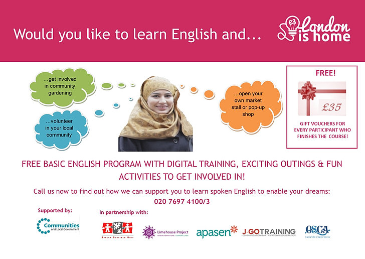 Where can you find free spoken English training programs?