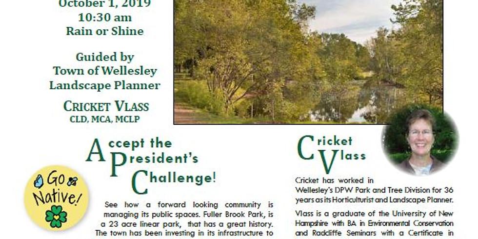 Fuller Brook Park Tour guided by Cricket Vlass