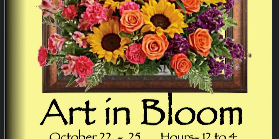 Art in Bloom in Plymouth at Plymouth Center for the Arts