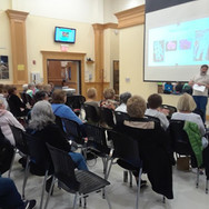 Brian Leib presenting to Plymouth Eve GC