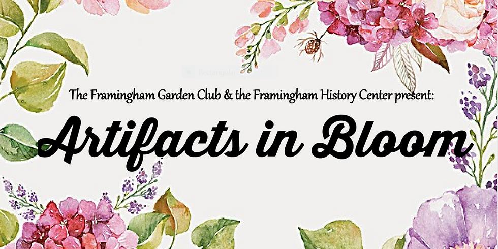 "Framingham GC,presents ""Artifacts in Bloom"""