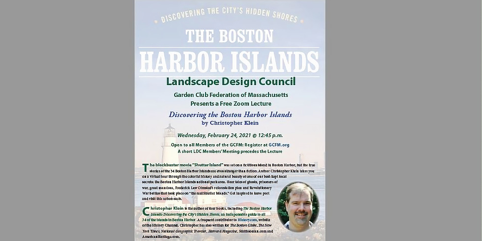 Discovering the Boston Harbor Islands with Christopher Klein