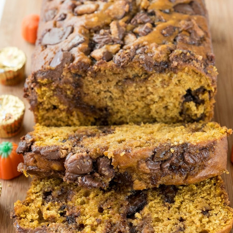 Finds: Peanut Butter Cup Pumpkin Bread