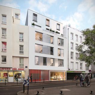 Paris XVIII - Immobilière 3F