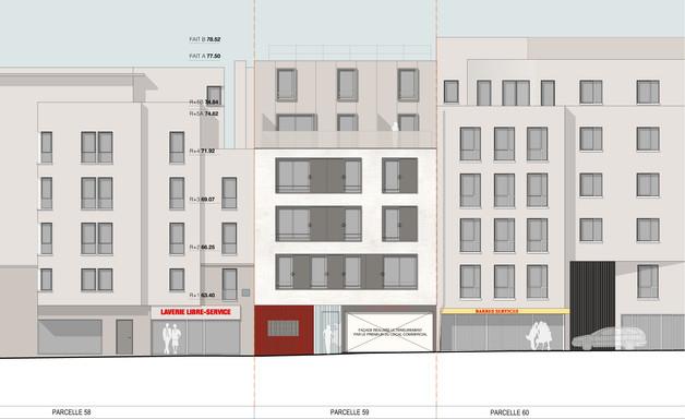 Paris_charbonnière-facade_rue_elevation.