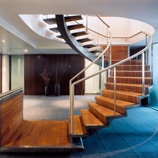 Escalier d'honneur - Société privé