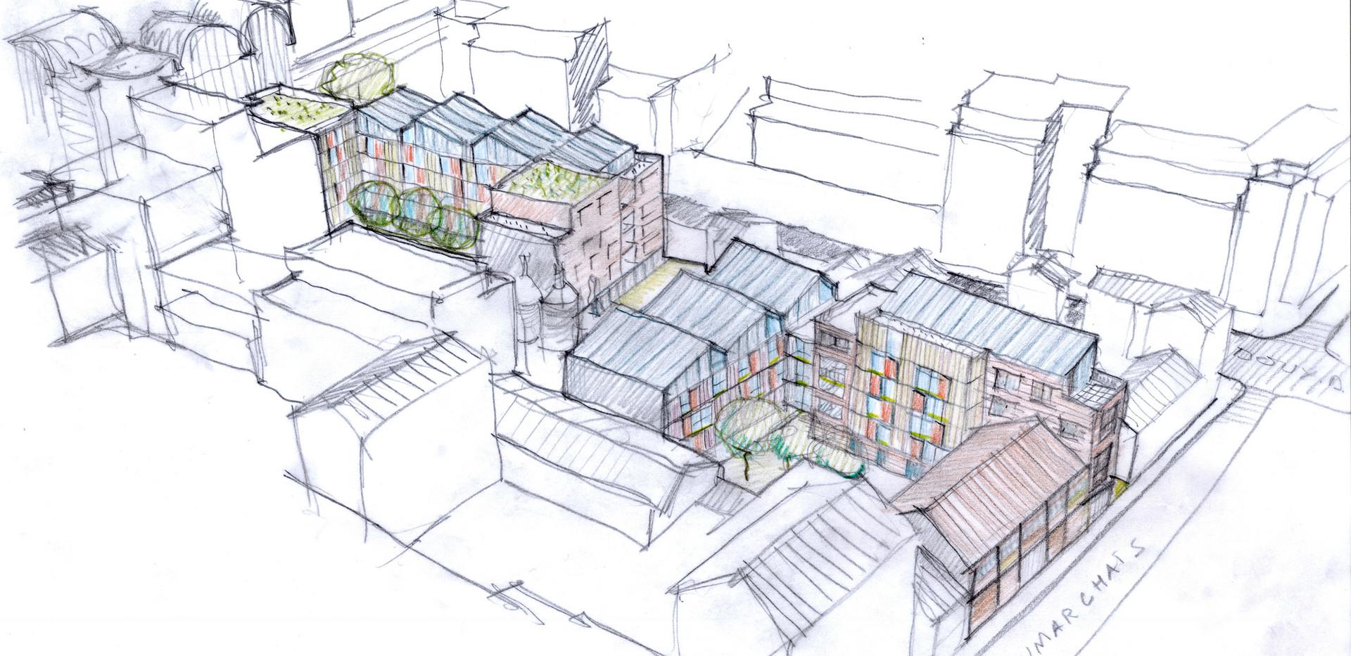 90 logements collectifs Montreuil