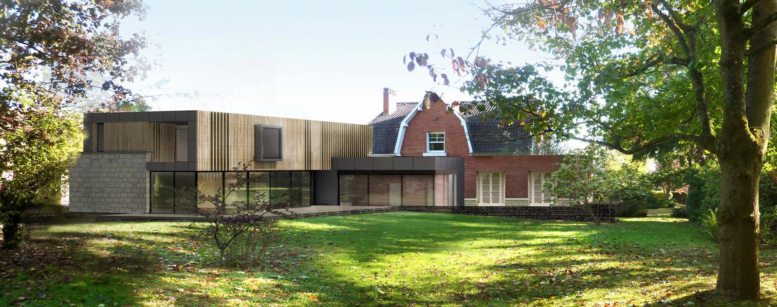 Extension d'une villa Antony