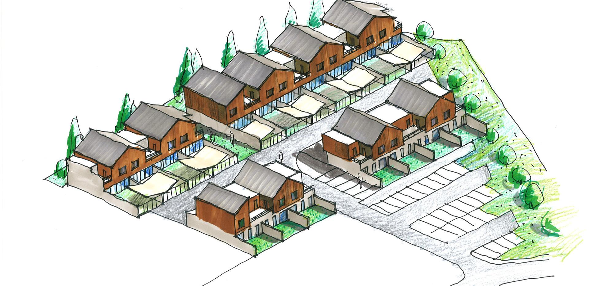 18 maisons individuelles groupées Montataire