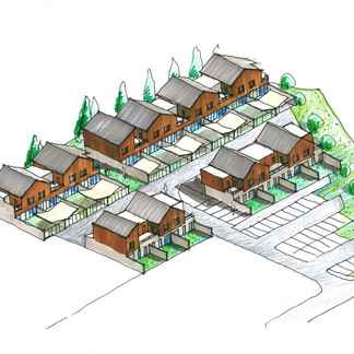 Maisons individuelles groupées à Montataire