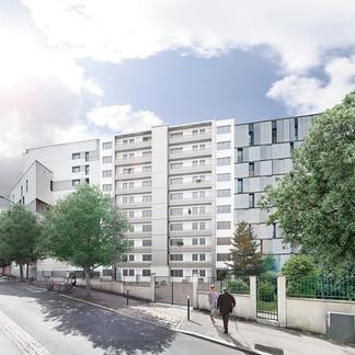 Montreuil - copropriété Walwein