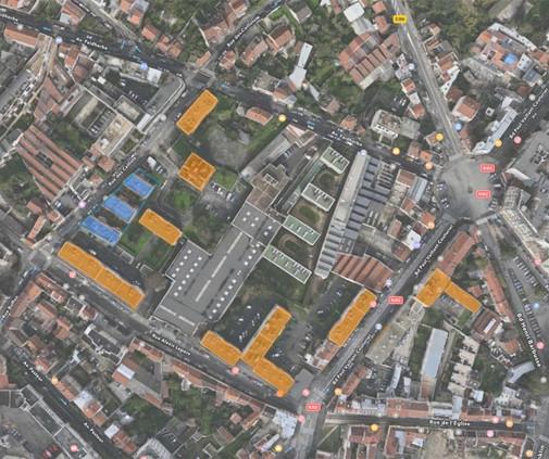 Montreuil PVC-plan de masse couleur ligh