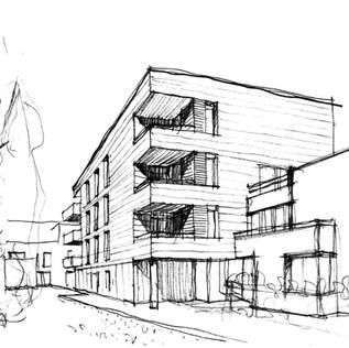 35 logements collectifs à Pantin