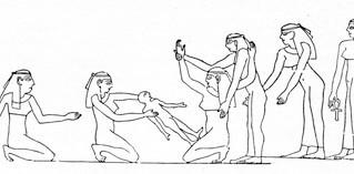 How Egyptian Woman Gave Birth