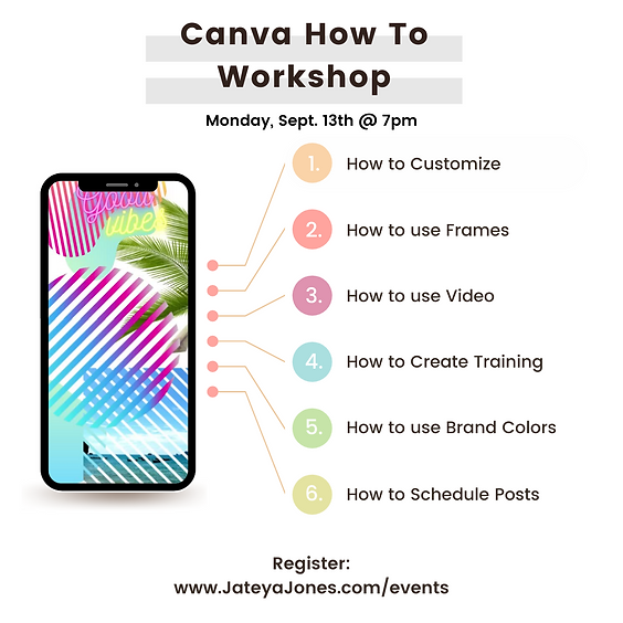 """Canva """"How To"""" Workshop"""
