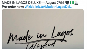 'Made In Lagos' The Gift That Just Keeps On Giving