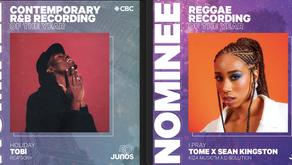 Nigerian-Canadian artists, Tome & TOBi nominated for Canada's prestigious 2021 Juno Awards