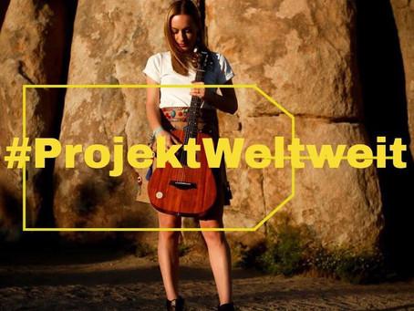 #ProjektWeltweit  Die letzten Schritte