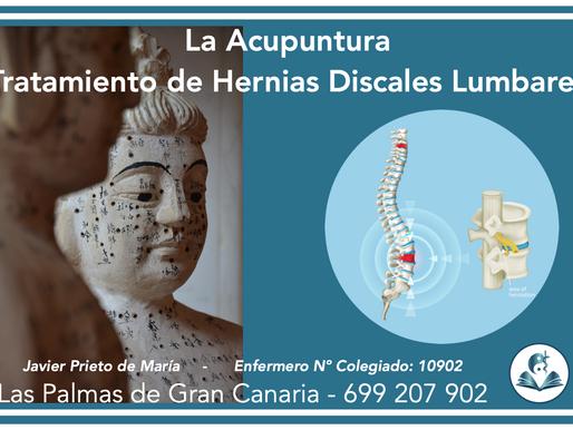 HERNIAS DISCALES LUMBARES Y ACUPUNTURA