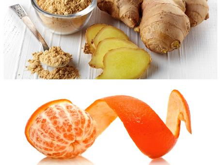Jengibre con Té Verde y Piel de Mandarina