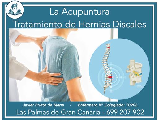 La punción profunda de los puntos huatuojiaji en el tratamiento de hernias discales lumbares