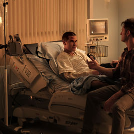 Zac's Hospital Room