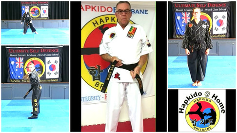 Hapkido @ Home Introduction
