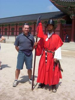 Korea 2005 palace guard