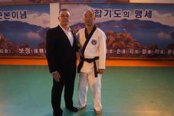 director of the Korea Hapkido Federation