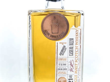 Review #1: The Single Cask Auchroisk 1991 21 Years Old