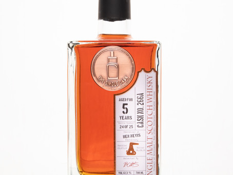 Review #85: The Single Cask Ben Nevis 2014 5 Years Oloroso Finish